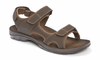 Orthaheel Mick Men's Sandals - Chocolate