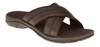 Orthaheel Adam Mens Slides - chocolate