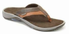 Orthaheel Joel Mens Sandals - chocolate / tan