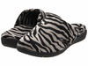 Orthaheel Gemma Women's Slippers - Dark Grey Zebra