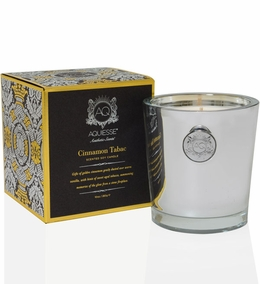 Aquiesse Holiday Cinnamon Tabac Candle