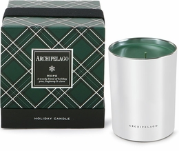 Archipelago Traditional Holiday Hope Gift Boxed Candle
