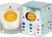 Ergo Solo White Peach Candle