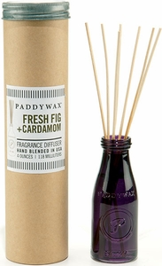 Paddywax Fresh Fig and Cardamom Large Vintage Jar Diffuser