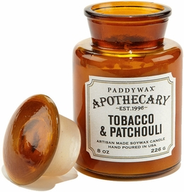 Paddywax Tobacco and Patchouli Apothecary Candle