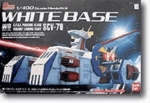 1/400 Gundam Collection White Base Model Kit