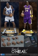 1/6th Scale NBA Shaquille O'Neal Lakers Magic Duo Pack Limited Edition Enterbay