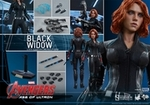 "12"" Avengers Age of Ultron Black Widow 1/6th Scale Action Figure Hot Toys"