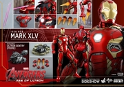 """12"""" Avengers Age of Ultron Iron Man Mark XLV 1/6th Scale Action Figure Hot Toys Diecast Series (Mark 45)"""