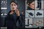 "12"" Avengers Age of Ultron Maria Hill 1/6th Scale Action Figure Hot Toys 2015 Toy Fair Exclusive"
