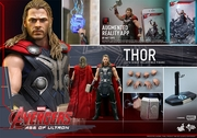 "12"" Avengers Age of Ultron Thor 1/6th Scale Action Figure Hot Toys"