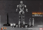"""12"""" Iron Man 2 Mark II Armor Unleashed Version 1/6th Scale Action Figure Hot Toys (Mark 2)"""