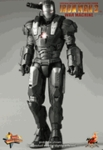 """12"""" Iron Man 2 War Machine 1/6th Scale Action Figure Hot Toys"""