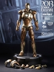 """12"""" Iron Man 3 Mark XXI Midas 1/6th Scale Action Figure Hot Toys 2013 Summer Exclusive (Mark 21)"""
