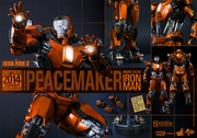 "12"" Iron Man 3 Mark XXXVI Peacemaker 1/6th Scale Action Figure Hot Toys 2014 Summer Exclusive (Mark 36)"