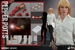 """12"""" Iron Man 3 Pepper Potts 1/6th Scale Action Figure Hot Toys"""
