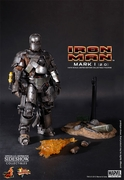 """12"""" Iron Man Mark I 2.0 1/6th Scale Action Figure Hot Toys (Mark 1) Special Exclusive"""