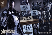 """12"""" Iron Man Mark VII 1/6th Scale Action Figure Hot Toys Movie Masterpiece Series (Mark 7) Stealth Mode Verson"""