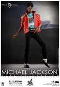 "12"" Michael Jackson Beat it Version 1/6th Scale Action Figure Hot Toys 10th Anniversary Exclusive"