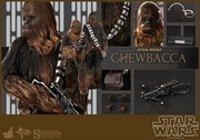 """12"""" Star Wars Episode IV A New Hope Chewbacca 1/6th Scale Action Figure Hot Toys"""