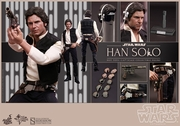 """12"""" Star Wars Episode IV A New Hope Han Solo 1/6th Scale Action Figure Hot Toys"""