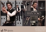 "12"" Star Wars Episode IV A New Hope Han Solo 1/6th Scale Action Figure Hot Toys"