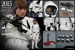 "12"" Star Wars Episode IV A New Hope Luke Skywalker Stormtrooper Disguise Version 1/6th Scale Action Figure Hot Toys 2015 Toy Fair Exclusive"