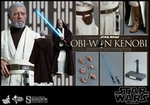 "12"" Star Wars Episode IV A New Hope Obi-Wan Kenobi 1/6th Scale Action Figure Hot Toys"
