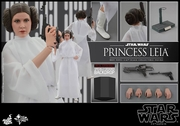 "12"" Star Wars Episode IV A New Hope Princess Leia 1/6th Scale Action Figure Hot Toys 2015 Toy Fair Exclusive"