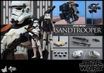 "12"" Star Wars Episode IV A New Hope Sandtrooper 1/6th Scale Action Figure Hot Toys"