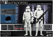 """12"""" Star Wars Episode IV A New Hope Stormtrooper Figures Set 1/6th Scale Action Figure Hot Toys"""