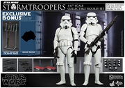 """12"""" Star Wars Episode IV A New Hope Stormtrooper Figures Set 1/6th Scale Action Figure Hot Toys Special Exclusive Version"""