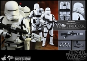 """12"""" Star Wars Force Awakens First Order Flametrooper 1/6th Scale Action Figure Hot Toys"""