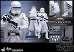 """12"""" Star Wars Force Awakens First Order Snowtrooper 1/6th Scale Action Figure Hot Toys"""