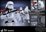 """12"""" Star Wars Force Awakens First Order Snowtrooper Officer 1/6th Scale Action Figure Hot Toys"""
