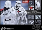 """12"""" Star Wars Force Awakens First Order Snowtroopers 1/6th Scale Action Figure Hot Toys"""
