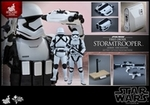 """12"""" Star Wars Force Awakens First Order Stormtrooper Jakku Exclusive 1/6th Scale Action Figure Hot Toys"""