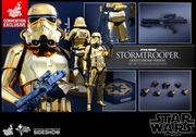 """12"""" Star Wars Stormtrooper Gold Chrome Version 1/6th Scale Action Figure Hot Toys 2016 Convention Exclusive"""