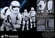 """12"""" Star Wars The Force Awakens First Order Stormtrooper 1/6th Scale Action Figure Hot Toys"""