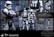 """12"""" Star Wars The Force Awakens Heavy Gunner Stormtrooper 1/6th Scale Action Figure Hot Toys"""