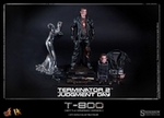 "12"" Terminator 2: Judgment Day T-800 Battle Damaged Version 1/6th Scale Action Figure Hot Toys"