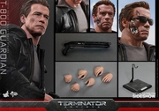 "12"" Terminator Genisys T-800 Guardian 1/6th Scale Action Figure Hot Toys"