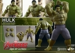Avengers Age of Ultron Hulk 1/6th Scale Action Figure Hot Toys Deluxe Set