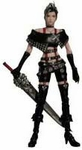 Final Fantasy X-2 Play Arts Action Figure Paine 1/10 Scale Statue