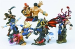 Fist of the North Star Gashapon Capsule Figure Set of 5