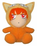 "Fruits Basket 8 "" Inches Plush Doll - Kyo Sohma Cat Costume"
