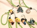 Fullmetal Alchemist Cell Phone Strap Figure Set of 7 Full Metal