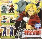 Fullmetal Alchemist Gashapon Capsule Figure Series 1 Set of 6 Full Metal