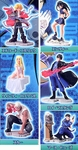 Fullmetal Alchemist Gashapon Capsule Figure Series 2 Set of 6 Full Metal