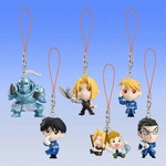 Fullmetal Alchemist Keychain Figure Series 2 Set of 6 Full Metal